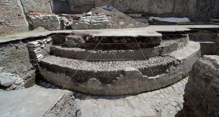Nuevo hallazgo arqueológico en el corazón de la Ciudad de México