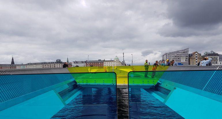 Nuevo puente para ciclistas en Copenhague