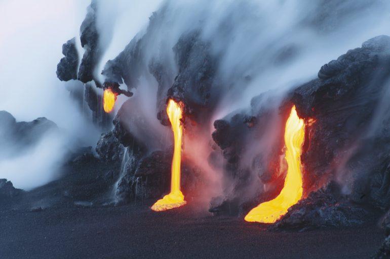 Nuevo tipo de erupción volcánica