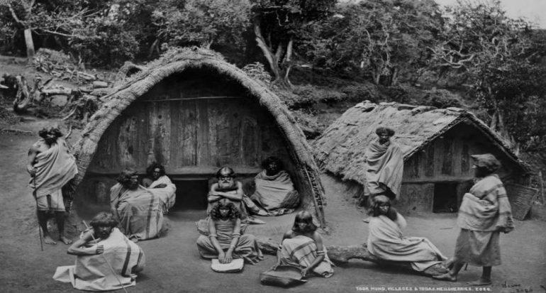 Paisajes de India en blanco y negro