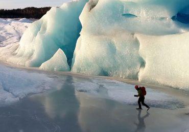 Patinar entre icebergs
