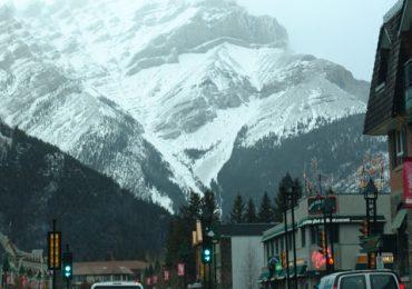 Por las montañas rocallosas en Canadá