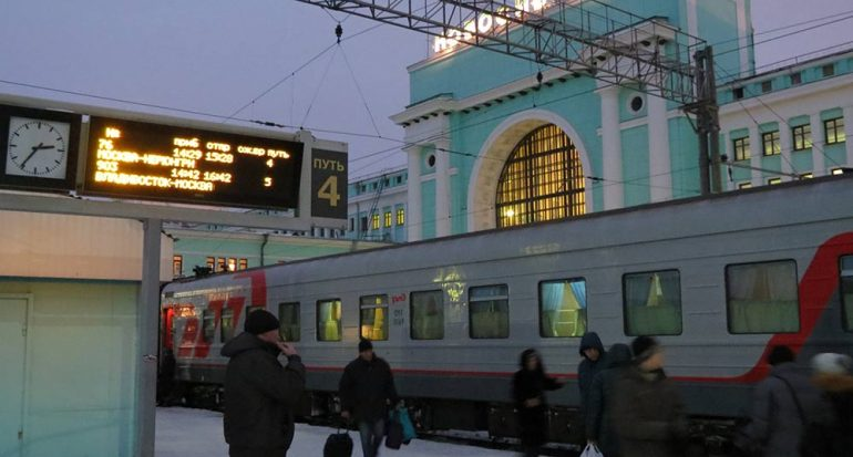 Por las vías de Rusia