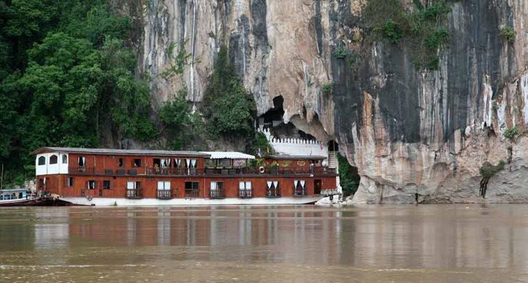 Por los tramos navegables del Mekong
