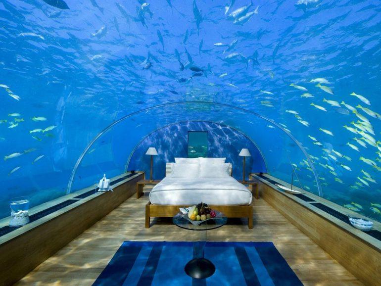 Poseidón: el primer hotel bajo el agua
