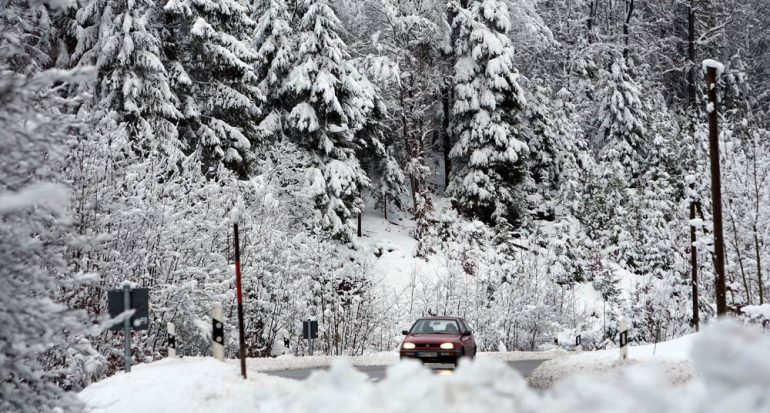Posible cierre de carreteras en los Alpes por el invierno