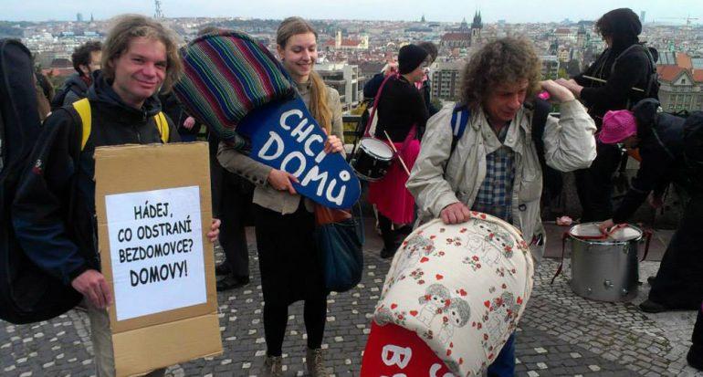 Praga a través de los ojos de personas sin hogar