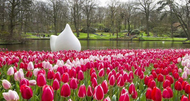 Primavera al estilo holandés en el Keukenhof