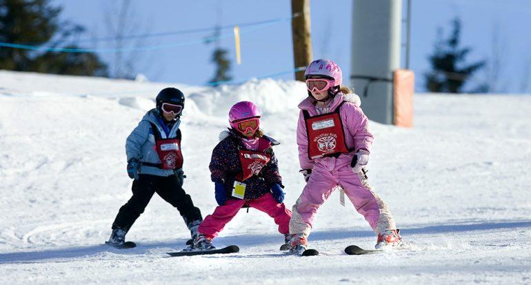 Protección para los pequeños esquiadores