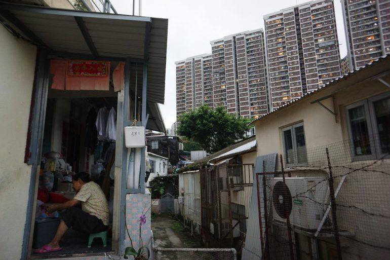 Pueblo sobreviviente en Hong Kong