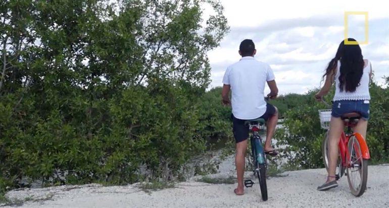 Puerto Morelos en dos ruedas