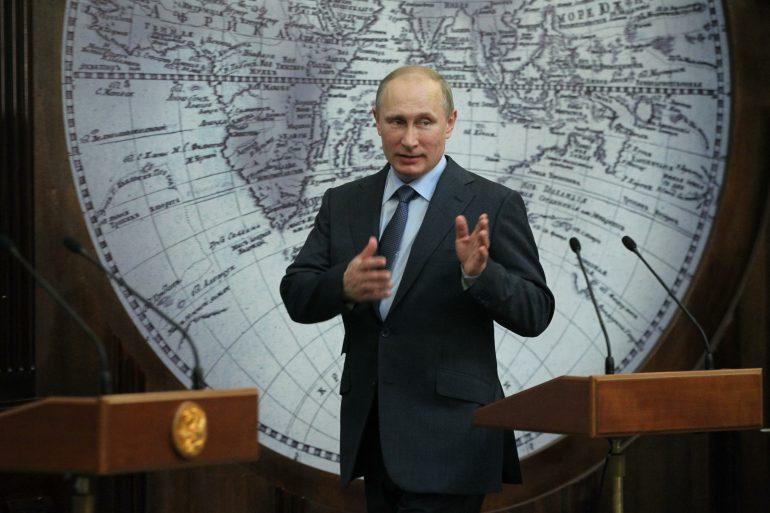 Putin en el cenit
