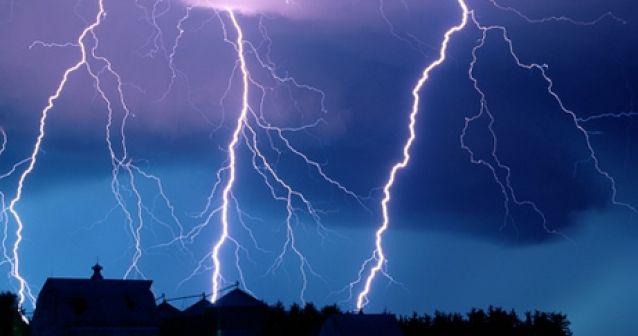Rayos gamma y tormentas electricas