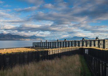 Un hotel ecológico en medio de la Patagonia