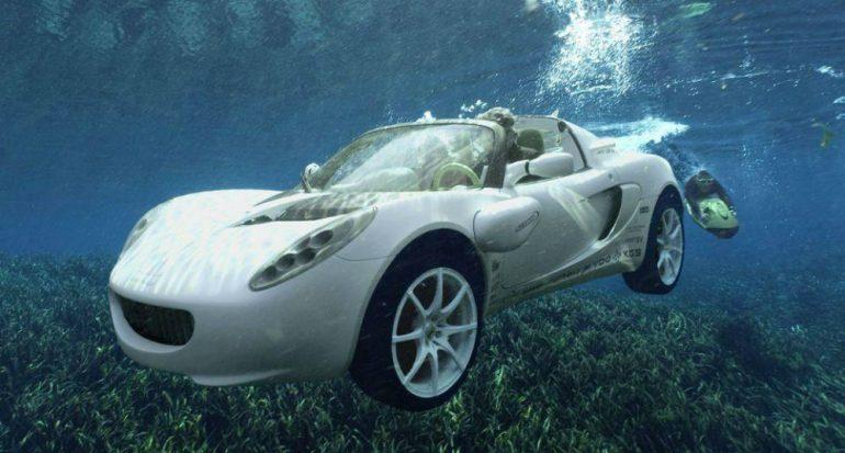 Rinspeed sQuba: el auto submarino