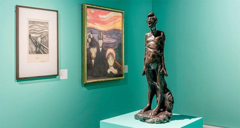 Rivales bajo el mismo techo: Munch y Vigeland se reúnen en Oslo