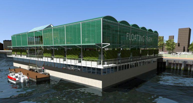 Rotterdam abrirá la primer granja flotante