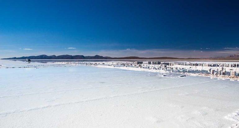 Salar de Uyuni: nada más que sal