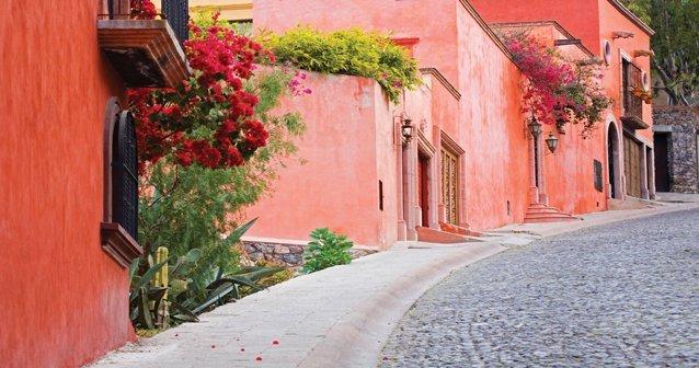 San Miguel de Allende: imán de artistas y viajeros.