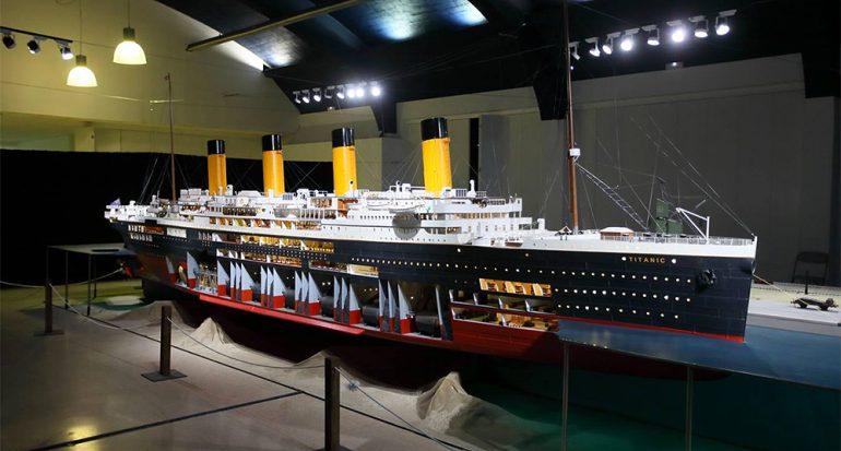 Se testigo de una de las recreaciones más grandes del Titanic