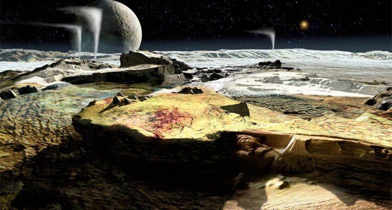 Si nos paramos sobre Plutón