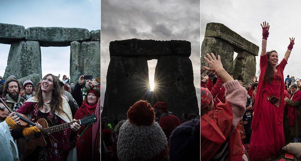 Solsticio de Invierno en Stonehenge 2016
