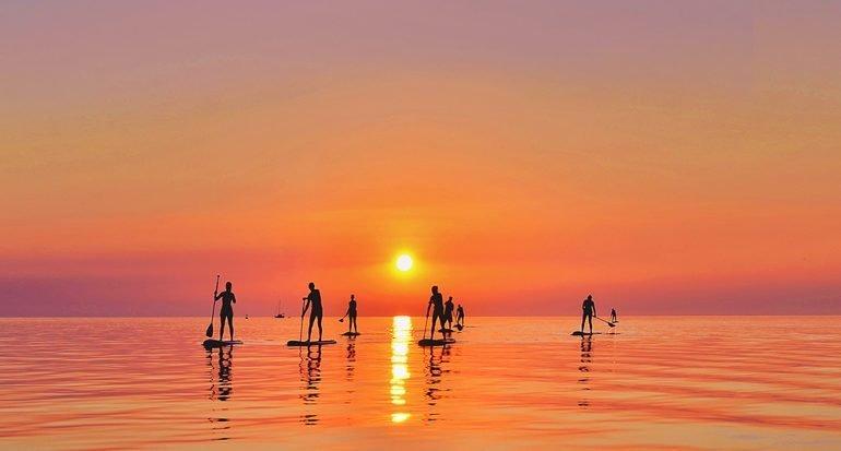 Stand surfista
