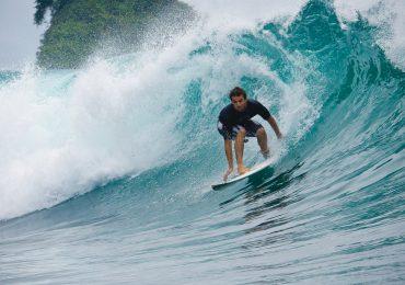 Surfeando en la selva colombiana