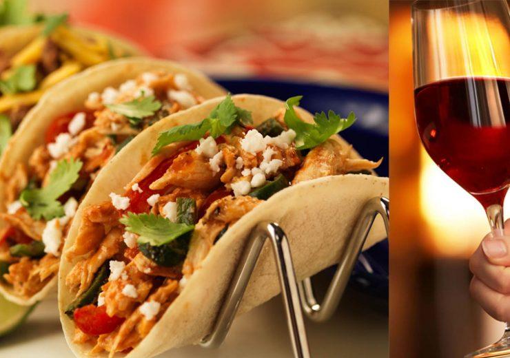 Tacos y vinos puede ser el maridaje perfecto