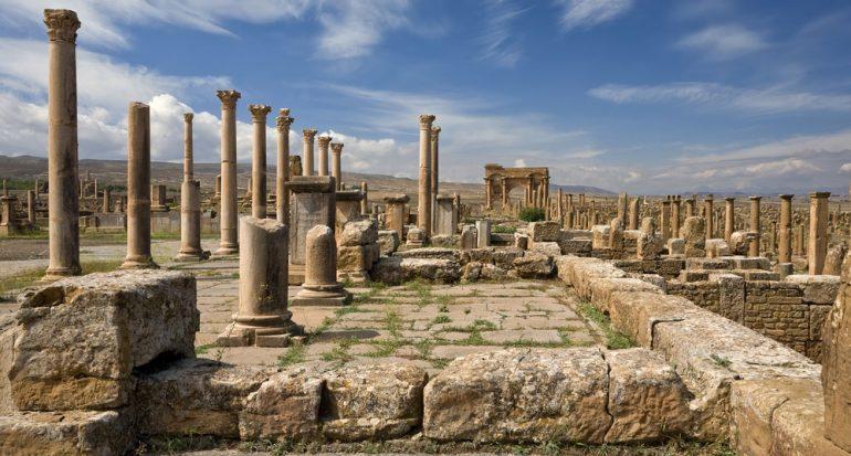 Timgad: la ciudad de los romanos