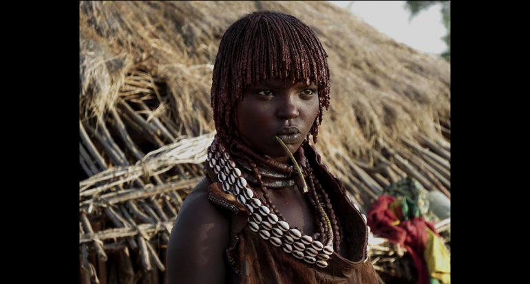 Tribu en Etiopía