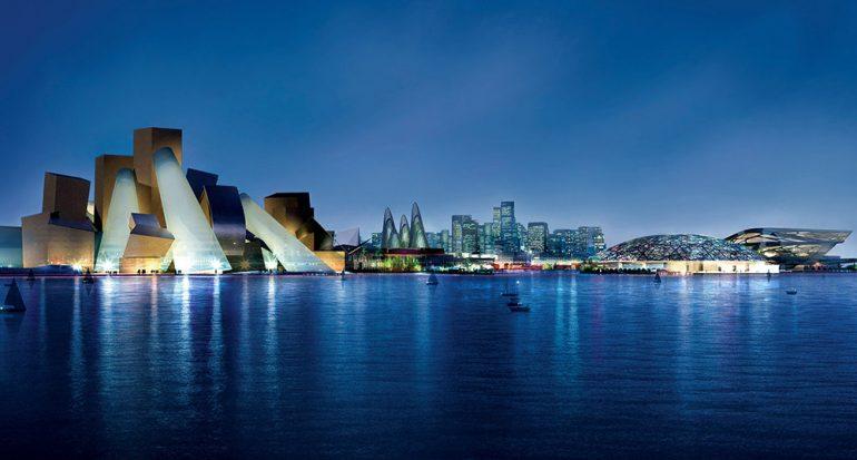 Un Louvre y un Guggenheim en una isla