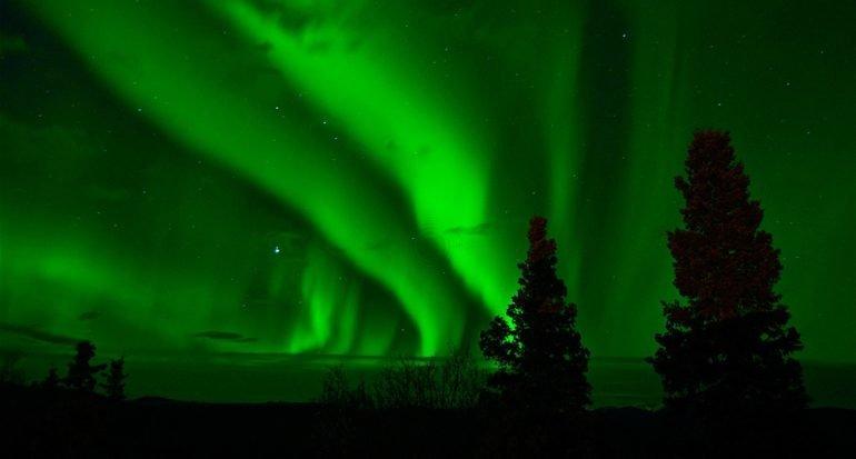 Un espectacular video de una aurora desde el espacio