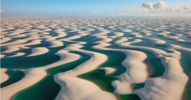 Un mar de dunas