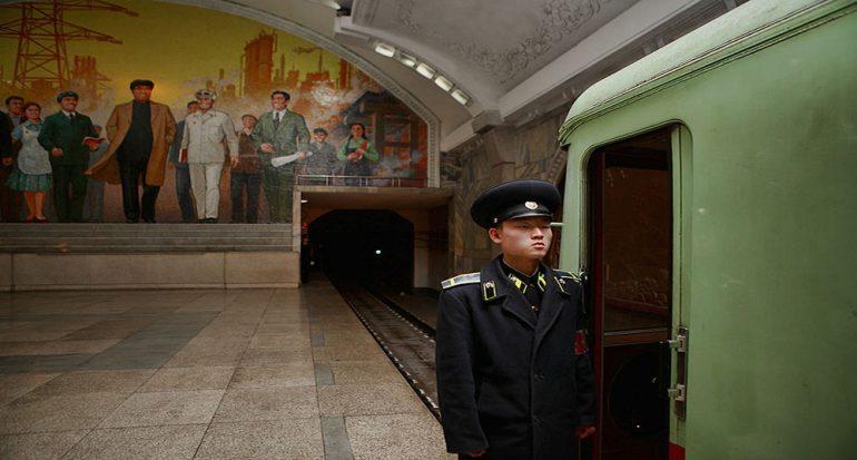 Un paseo por el metro prohibido de Corea del Norte
