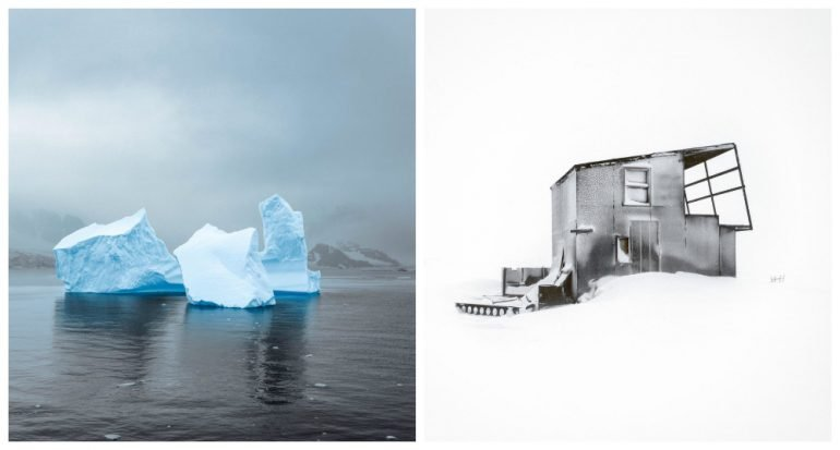 Un proyecto fotográfico muestra imágenes del cambio climático en la Tierra