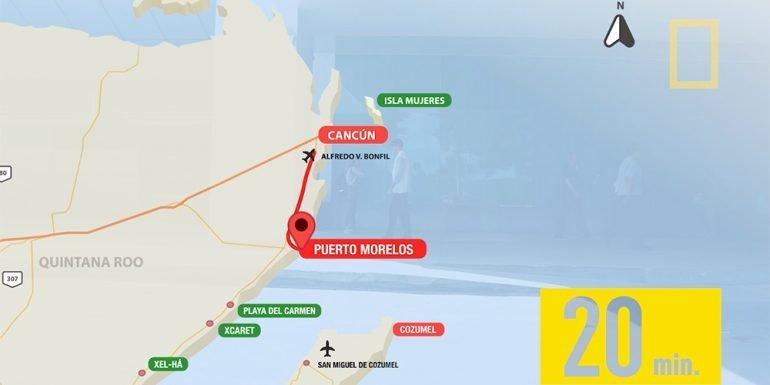 Un punto estratégico para conocer la Riviera Maya