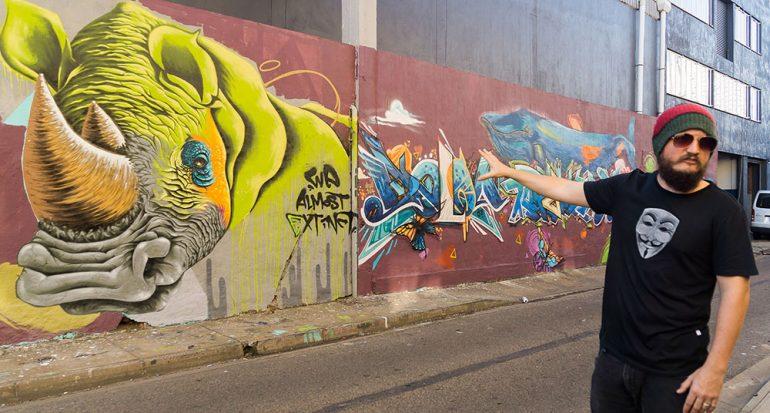 """Un """"safari artístico"""" por las calles de Durban"""
