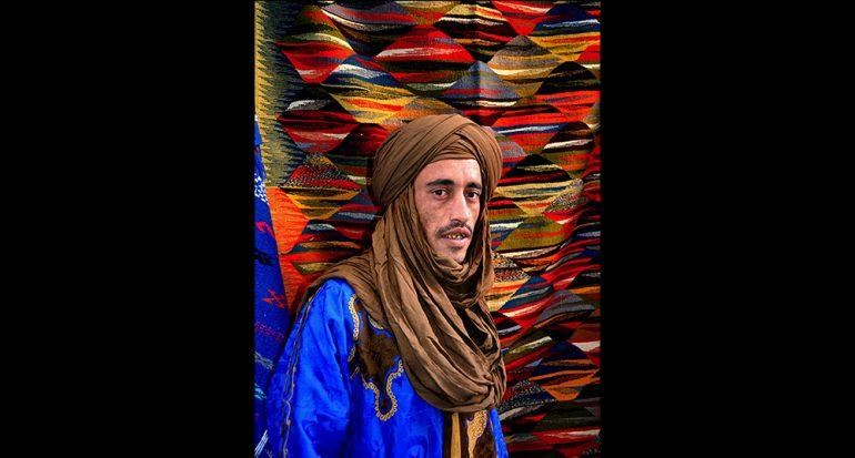 Un tuareg en Chaouen