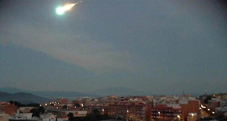 """Una """"bola de fuego"""" cayó en el sur de Perú"""