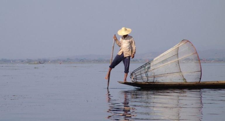 Una caminata hacia los jardines flotantes de Myanmar