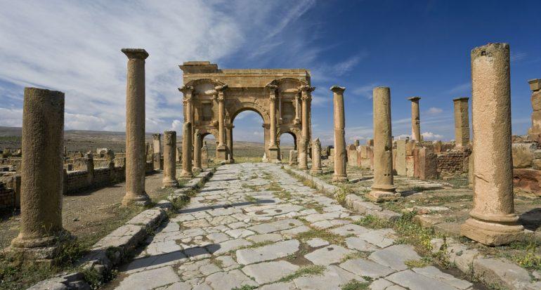 Una ciudad romana en África