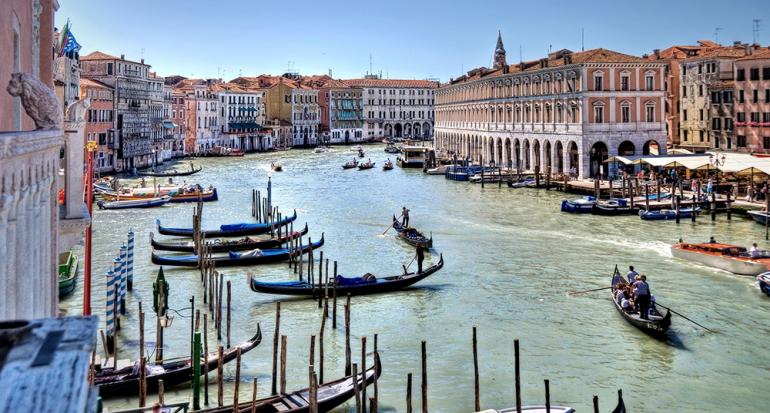 Venecia y sus historias de amor