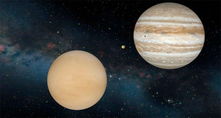 Venus y Júpiter brillan y se juntan en el cielo esta semana