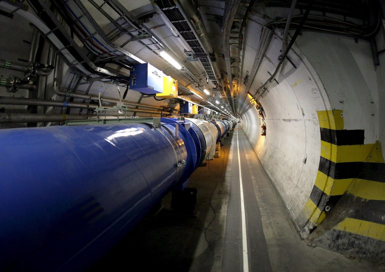 Video Gran Colisionador de Hadrones