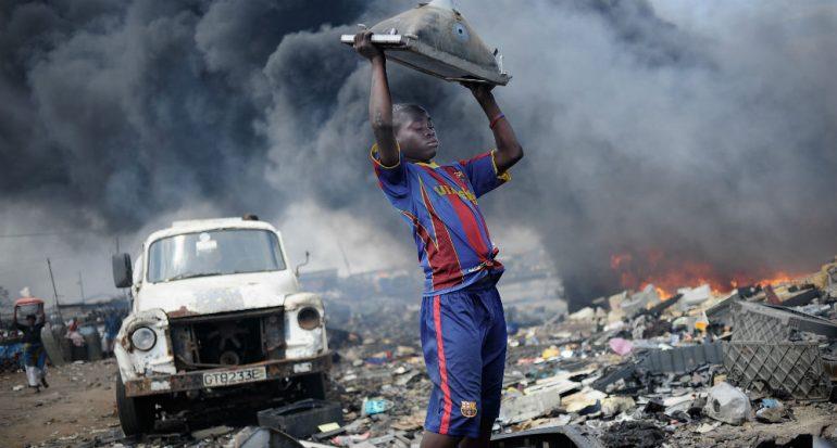 Vivir entre basura