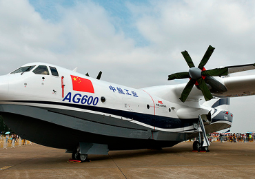 Volará el avión anfibio más grande del mundo desde el agua