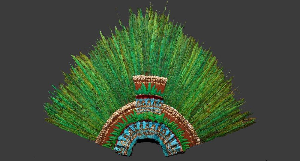 Vuelven A Exhibir El Penacho De Moctezuma National Geographic En