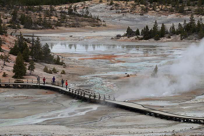 Yellowstone: el primer parque nacional de la historia