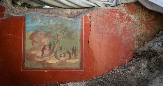 Emerge en Pompeya una casa de más dos mil años